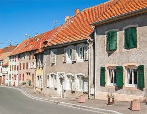 Rue d'un village