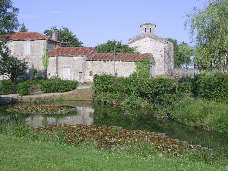 Vue ancienne église st Christophe Eglise