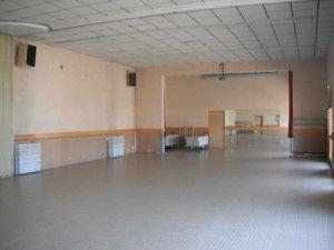 grande salle avant travaux