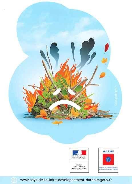 brûlage déchets verts logo